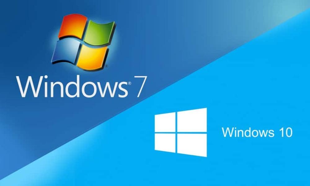 Mise a jour windows 7 -> 10